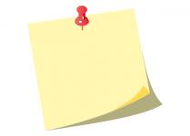101-yellow-post-it-notes-with-push-pin-vector
